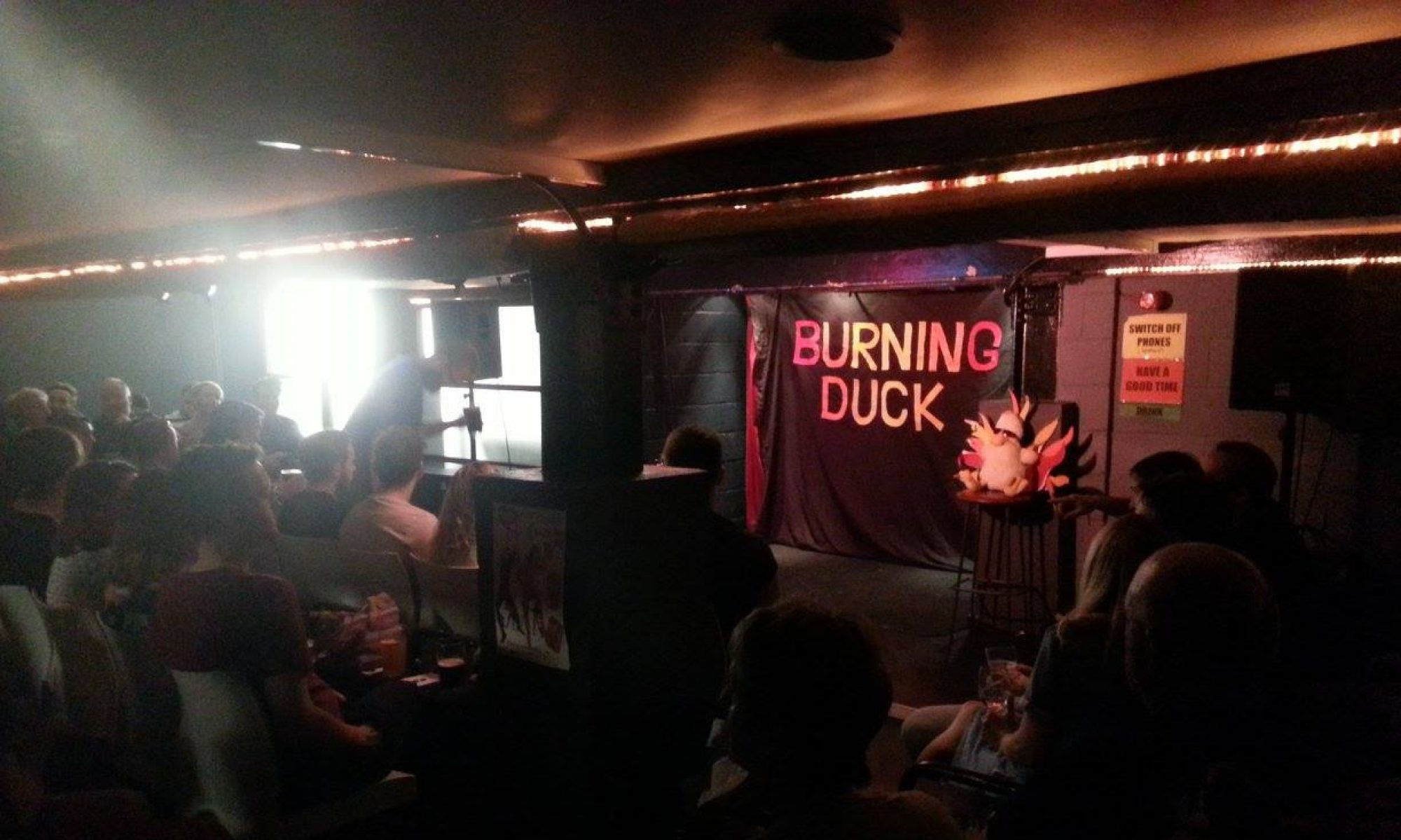 BURNING DUCK COMEDY CLUB